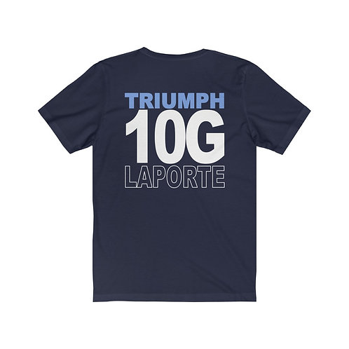 Team Gear - 10G LAPORTE - Unisex Jersey Short Sleeve Tee