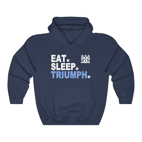 Eat. Sleep. Triumph. - Unisex Heavy Blend™ Hooded Sweatshirt