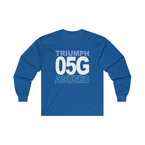 Team Gear - 05G AGUERO - Ultra Cotton Long Sleeve Tee