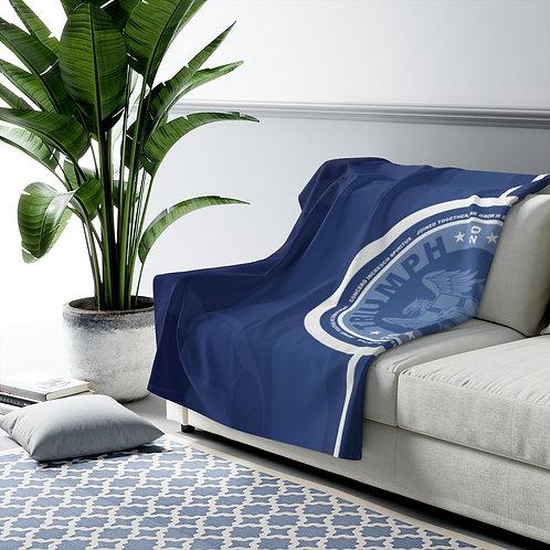Triumph Blue - Sherpa Fleece Blanket