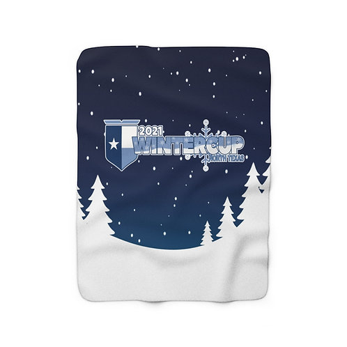 2021 Wintercup Sherpa Fleece Blanket