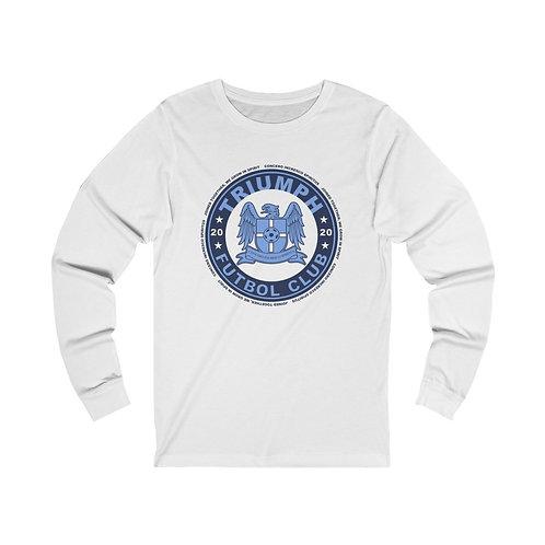 Circle Crest - Unisex Jersey Long Sleeve Tee