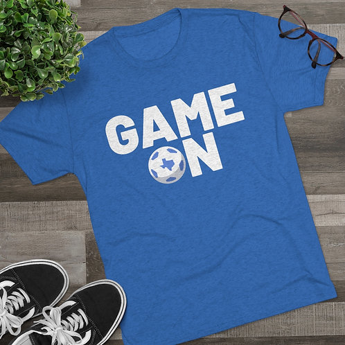 Game On - Tri-Blend Crew Tee