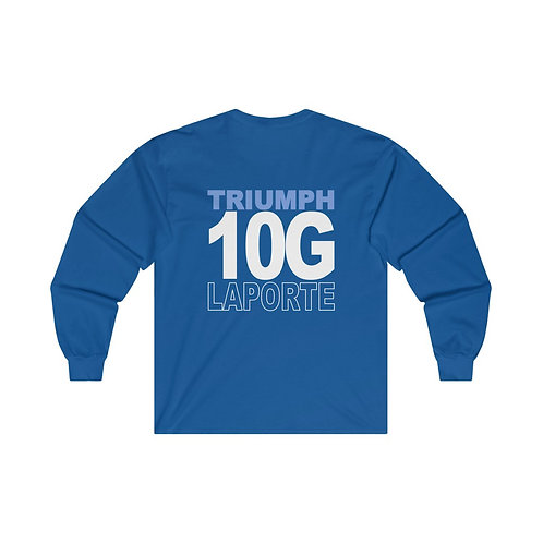 Team Gear - 10G LAPORTE - Ultra Cotton Long Sleeve Tee