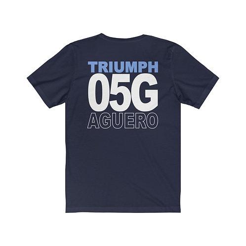 Team Gear - 05G AGUERO - Unisex Jersey Short Sleeve Tee