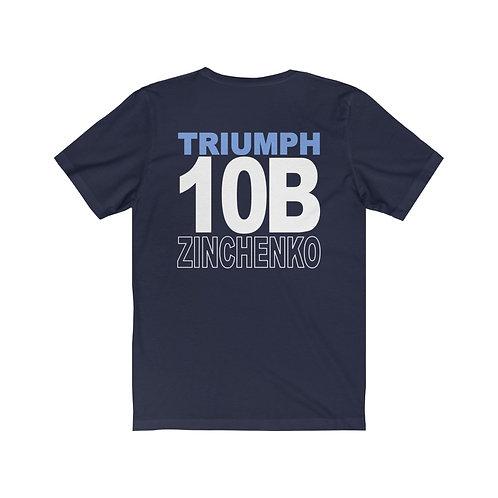 Team Gear - 10B ZINCHENKO - Unisex Jersey Short Sleeve Tee
