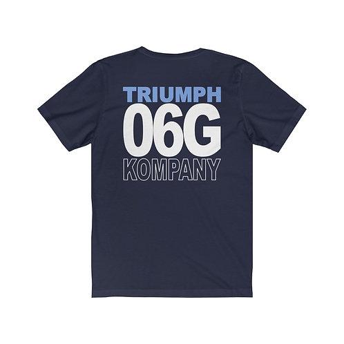 Team Gear - 06G KOMPANY - Unisex Jersey Short Sleeve Tee