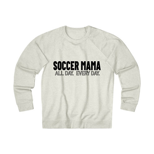 Soccer Mama - Soccer Crew Shirt - Sports Mom Shirt - Mama Shirt