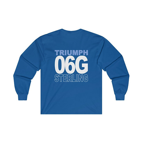 Team Gear - 06G STERLING - Ultra Cotton Long Sleeve Tee