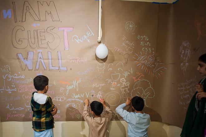 I.AM Guest Wall