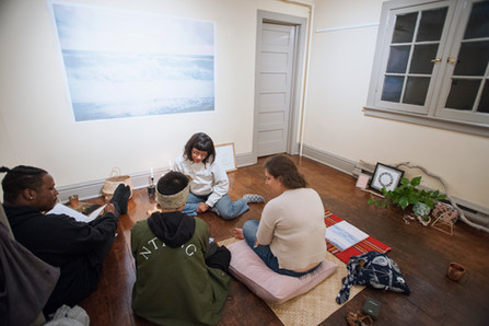 Conscious Minds Co-op's collaborative space of reflection and healing featuring the womxn publication.