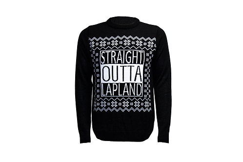 Straight Outta Lapland Jumper