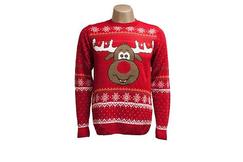 Reindeer in Lights Christmas Jumper