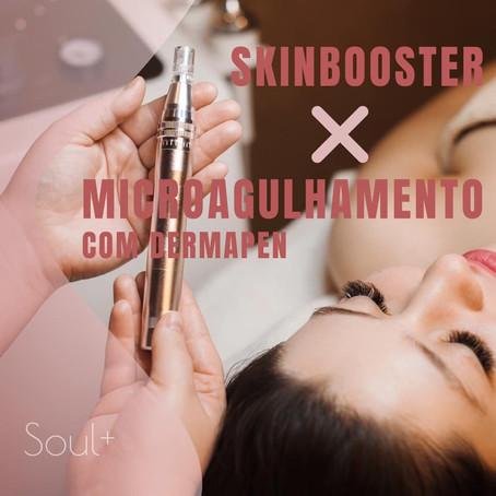 SKINBOOSTER x MICROAGULHAMENTO