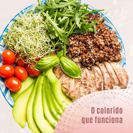 A importância da alimentação colorida
