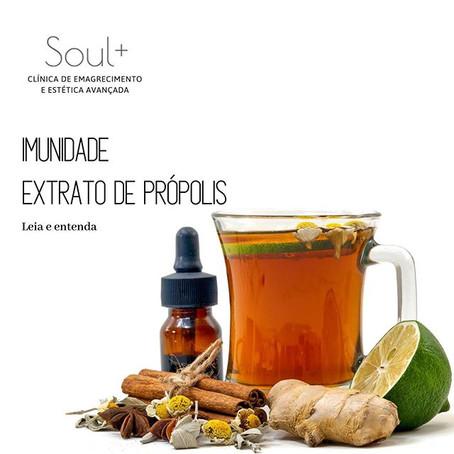 IMUNIDADE: Extrato de Própolis