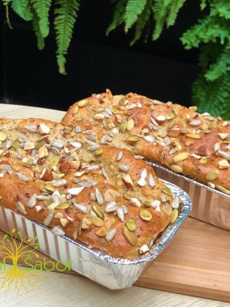 Pão proteico Zero