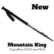 [마운틴킹] 엑스페디션 등산 스틱 Expedition EVA Speedlock - 1EA