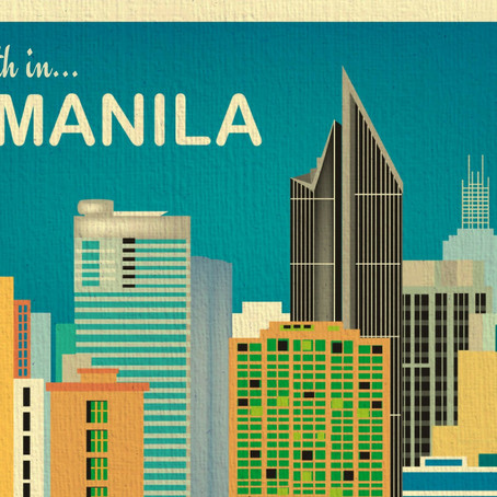 One Month in Manila