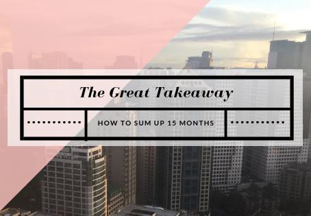 The Great Takeaway