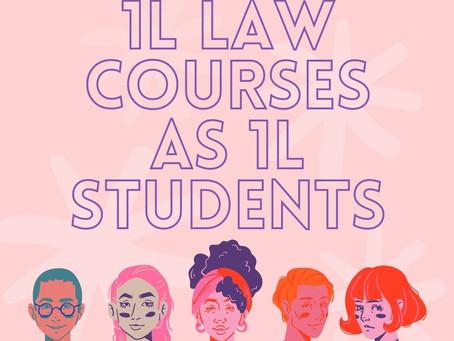 1L Law Courses as 1L Students