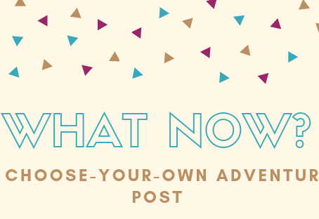 What Now? : A Choose Your Own Adventure Post
