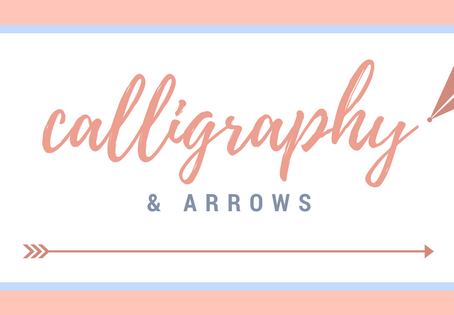 Calligraphy and Arrows