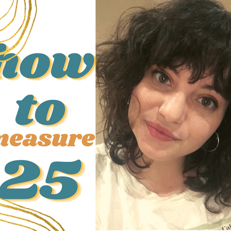 How to measure 25