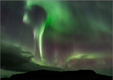 Aurora, South Iceland