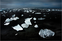Ice, Jokulsarlon Beach