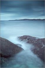 Moody rocks and waves, small