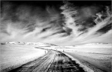 Lonely Road, N. Iceland