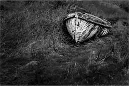 Beached Boat, Camus Cros