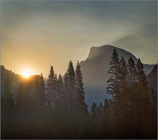 Half Dome at Dawn