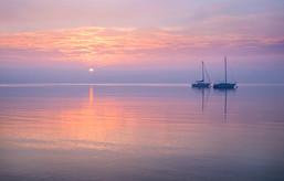 Sunrise, Shingle Point