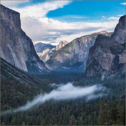 Half Dome from Tunnel View