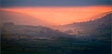 Daybreak from Blakey Ridge, Yorkshire