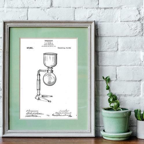 Vacuum Pot Patent Print