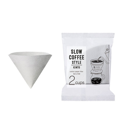 Kinto Cotton Paper Filter 2Cups