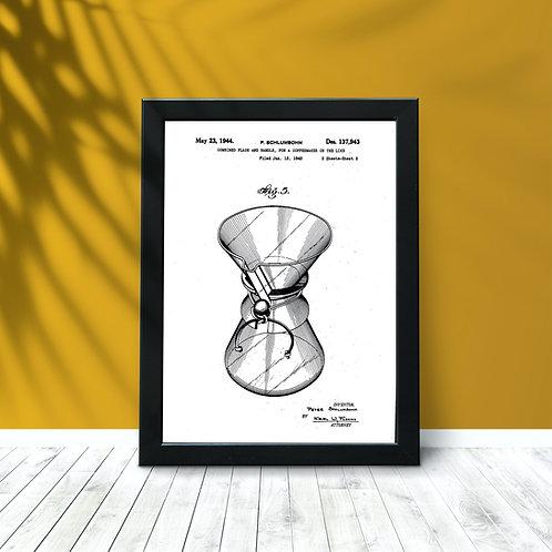 Chemex Patent Print