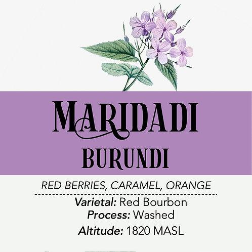 BURUNDI - Maridadi