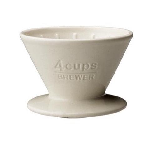 Kinto 4 Cup Porcelain Brewer