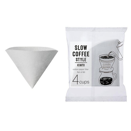 Kinto Cotton Paper Filter 4Cups
