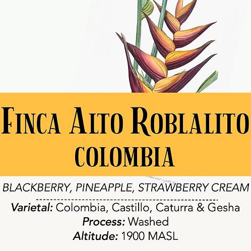 COLOMBIA - Finca Alto Roblalito