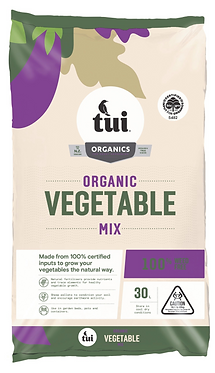 Tui Certified Organic Vegetable Mix 30L