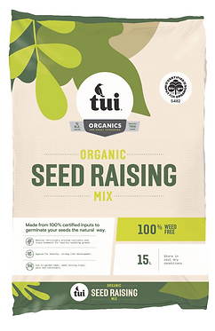 Tui Certified Organic Seed Raising Mix 15L