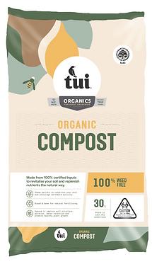 Tui Certified Organic Compost 30L