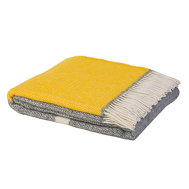 Kirkcaldy Throw - Yellow