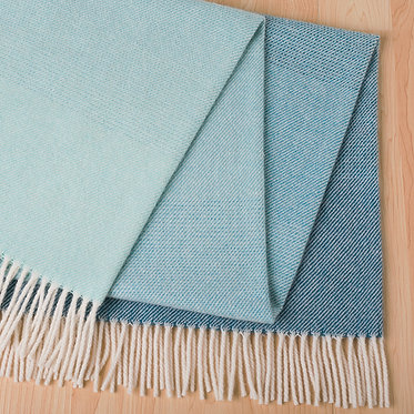 Piha Throw - Azure