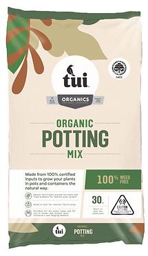 Tui Certified Organic Potting Mix 30L